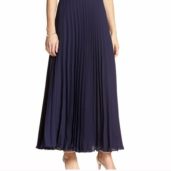 Banana Republic Pleated Maxi Skirt size 6